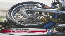 Muere motociclista al ser atropellado por un tráiler en la autopista 80
