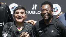 """Nostálgica carta de Pelé a Maradona: """"Te amo, Diego"""""""