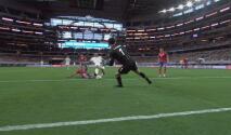¡Grande Alvarado! El portero de Costa Rica saca el gol de Akindele