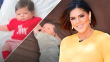 Baby Gennaro sí que ha crecido desde que salió del hospital y en su primer #tbt tenemos la prueba