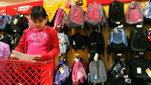 Se acerca el fin de semana sin impuestos en Texas para compras de artículos escolares
