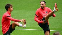Héctor Herrera apunta a la titularidad en el 'Atleti' vs. Levante