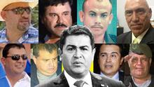 How strong is the legal evidence of drug trafficking against the president of Honduras?
