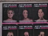 'Golpeadas' Michelle Obama, Hillary Clinton y Alexandria Ocasio: una campaña que denuncia la violencia contra la mujer