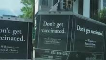 Psicología inversa: la increíble estrategia de publicidad por la vacuna que sorprendió en las calles
