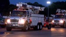 Trabajadores de Center Point Energy viajan a Luisiana para ayudar a restaurar la electricidad