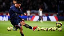 Buenas noticias para el PSG: Messi entrena al parejo