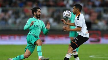 Militao, Casemiro, Isco y Bale no estarán ante el Zaragoza
