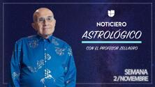 Noticiero astrológico: semana del 2 al 8 de noviembre