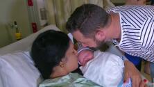 Exiliados cubanos tuvieron su primera hija en Miami durante la noche de Año Nuevo