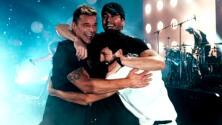 Locura total: así vivieron Ricky Martin, Enrique Iglesias y Sebastián Yatra el inicio de su gira juntos