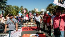 Miles de inmigrantes protestan contra medidas del gobierno de Trump