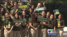 Estudiantes llegan al Capitolio por un proyecto de liderazgo