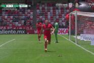¡El gol que mata a Tigres! Braian Samudio pone el 3-1 con un cabezazo