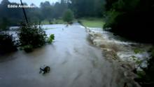 Tormentas dejan inundaciones en el condado de McDowell