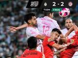 Santos empata de último minuto con Toluca y se mete a zona de reclasificación