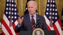 """""""Creo que debería renunciar"""": Biden habla sobre las denuncias de acoso sexual en contra de Andrew Cuomo"""