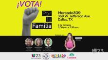 Acude a este evento y regístrate para votar en estas elecciones de medio término