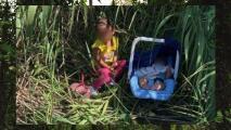 Un bebé de 3 meses y su hermana de 2 años son halladas abandonadas en el Río Grande