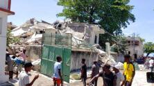 Las fuertes imágenes tras el terremoto en Haití, que cobró la vida a decenas de personas