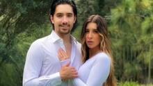 Alex Fernández y su esposa Alexia anuncian en portada de revista que esperan a su primer hijo