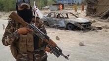 Así quedó el carro de un militante terrorista de ISIS-K tras un operativo de defensa estadounidense