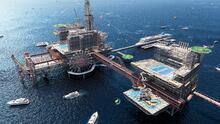 Un parque extremo de lujo en una plataforma petrolera: así es el nuevo proyecto turístico de Arabia Saudita