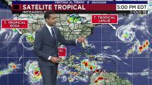 Ventana al Tiempo: Leve aumento en las temperaturas, pero con probabilidad de lluvias este martes en Houston