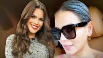 Con todo y mascarilla en el cabello, Karina Banda recogió a Carlos Ponce en el aeropuerto
