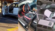 En menos de tres minutos, sospechosos roban una camioneta de un estacionamiento en Dallas
