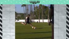 ¡Al ángulo! Golazo de Raúl Jiménez en entrenamiento