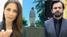 """""""El peor enemigo de un mexicano es otro mexicano"""": Alessandra Rosaldo tras daños a estatua de Derbez"""