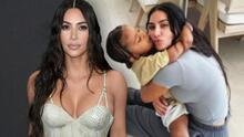 Kim Kardashian pasa un susto luego de que su hijo Saint sufriera varias fracturas en el brazo