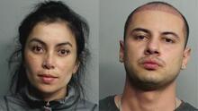 Arrestan a pareja hispana tras hallar dinero, tarjetas, pasaporte y otros objetos dentro de su vehículo