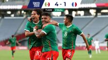 Debut soñado… México atropelló a Francia con todo y Gignac