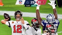 Gol de campo da a Brady y Bucs primera victoria ante Cowboys