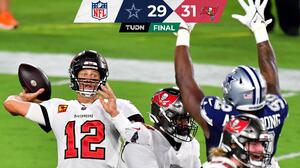 Brady y Bucs derrotan a Cowboys en entretenido partido inaugural