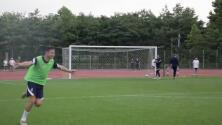 Thauvin se anotó un golazo en la práctica de Francia