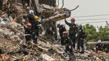 En un minuto: Elevan a 11 los cuerpos hallados en el derrumbe de Miami; equipos de rescate siguen buscando sobrevivientes