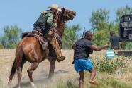 Controversia e indignación por imágenes de la Patrulla Fronteriza persiguiendo a caballo migrantes en la frontera