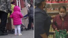 Aumenta el número de personas en Nueva York que dependen de los programas alimenticios