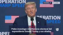 Secretaria de estado pide investigar interferencia electoral de Trump y sus aliados en Arizona