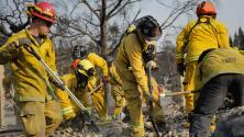 Bandera roja en California por el alto riesgo de incendios forestales durante este fin de semana
