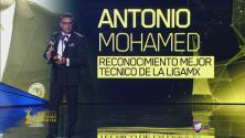 Antonio Mohamed recibió el Reconocimiento Mejor Técnico de la Liga MX