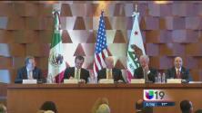 Jerry Brown fortalece lazos con México