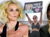 Britney Spears se queda encerrada en un baño y Miley Cyrus hace el mejor comentario