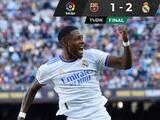 Con goles de Alaba y Lucas Vázquez, Real Madrid ganó el Clásico al Barcelona