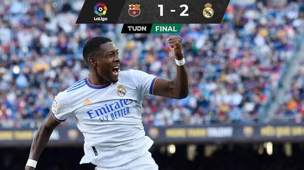 Con goles de Alaba y Lucas Vázquez, Real Madrid ganó el Clásico al Barça