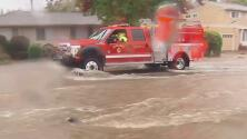 Inundaciones, deslaves y apagones: imágenes de los daños por 'ciclón bomba' en California