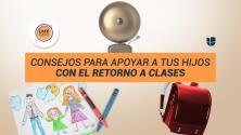 Café Dato: Consejos para apoyar a tus hijos con el retorno a clases